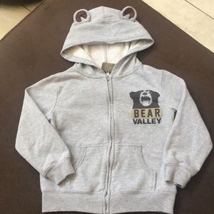 Other - Boys gray hoodie (M) 5/6